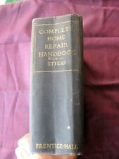 1950 1st Edition of the Complete Home Repair Handbook, Prentice Hall Publishers