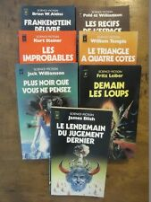LOT LIVRE SCIENCE-FICTION PRESSES POCKET ANTICIPATION FANTASTIQUE LEIBER STEINER