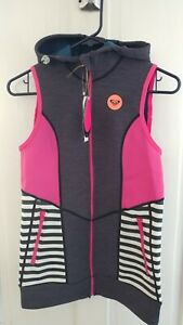 Roxy Close Out Surf Sand Neoprene Surf Vest-Small NWT