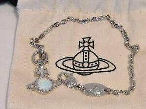 Vivienne Westwood Silver Latifah Bracelet