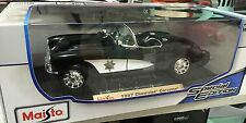 Maisto 1:18 Chevrolet Corvette State Highway Patrol 1957 Special Edition NEW