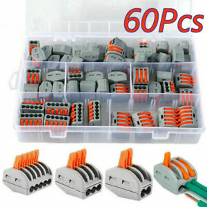 Car Terminals Block Plug-in Electrical Wire Connector Quick Wiring Cable Clamp