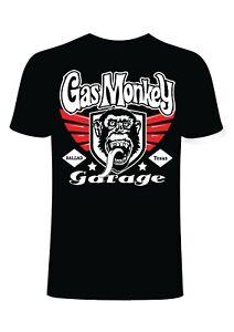 Gas Monkey Mens T Shirt Funny Loving Motivational Slogans Novelty Cotton Gift
