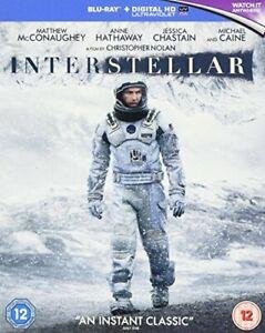 Interstellar [Blu-ray] [2014] [Region Free] [DVD][Region 2]