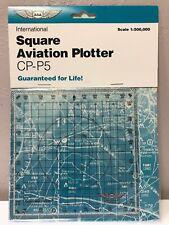 INTERNATIONAL AVIATION SQUARE PLOTTER by ASA  p/n ASA-CP-P5