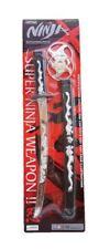 Toy Teenage Ninja warrior sword set fancy dress karate martial arts