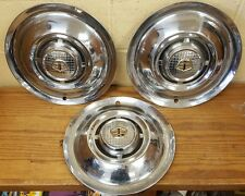 1955 Dodge Wheel Covers Hubcaps - Set of 3