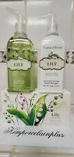 Crabtree & Evelyn Set Bar Soap / Hand Wash & Hand Therapy LILY New