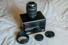 Sigma Zoom 18-200mm 1:3. Lente 5-6.3 DC OS Canon montaje en caja