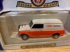 Oxford Diecast CS053 Austin Mini Van Unigate Dairies 1:43 Scale