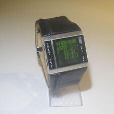 Genuine DIESEL digital watch DZ-7142 with real Leather Strap
