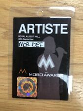 Mos Def Artist Pass - Mobo Awards