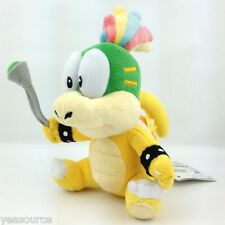 "New Super Mario Bros Lemmy Koopa Remi Koopaling 6"" Plush Toy Stuffed Animal"