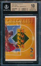 BGS 10 PRISTINE MICHAEL JORDAN 1993-94 Upper Deck 3D Pro View #110 CL2 GOAT RARE