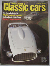 Classic Cars 02/1982 featuring Daimler V8 250, Ferrari, Aston Martin DB3