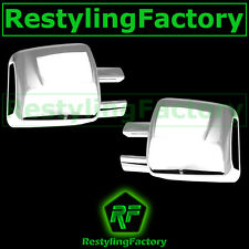 07-17 Toyota Tundra Chrome plated abs Full Towing Mirror Cover a pair kit