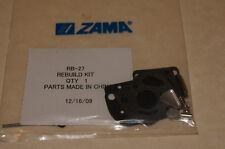 GENUINE ZAMA CARBURETOR REPAIR KIT # RB-27 for C1U-K10 K12 K21 K22 K23   CARBS