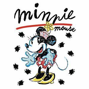MInnie Mouse Couverture Polaire Doux Enfants Disney Rétro - 120cm x 150cm