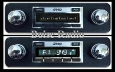 1981-1986 Jeep Scrambler CJ-8 NEW AM/FM 200 watt Stereo Radio Auxiliary In