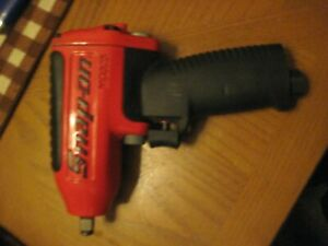 "Snap-on Tools 3/8"" Drive Red Super Duty Air Impact Wrench  MG325  Nice!"