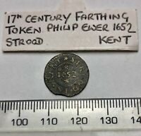 1652 Token - Philip Ewer, Stroud, Spink 4982 - Old Collection Piece (B553)