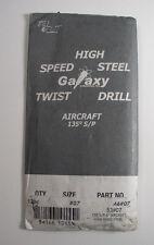 (12) Tru Cut A6#07 Galaxy Aircraft Drill Bit 135 Degree S/P Hss Qty 12