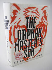 1st Edition THE ORPHAN MASTER'S SON Adam Johnson PULITZER PRIZE First Printing