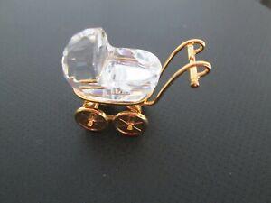 Swarovski Auflösung Swarovski Figur Crystal memories Kinderwagen