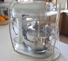 Almond Trim CLEAR MIXER COVER fits KitchenAid Bowl-Lift Stand Mixer 5 - 6Qt.