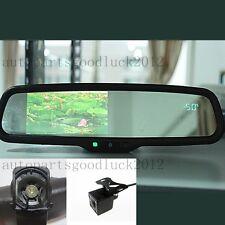 "Normal rearview mirror+4.3"" LCD+compass+temp+camera,fit Hyundai,Kia,Ssongyong"