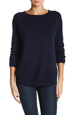 V531 NWT VINCE WOOL CASHMERE SHIRTTAIL WOMEN SWEATER SIZE M in N $225