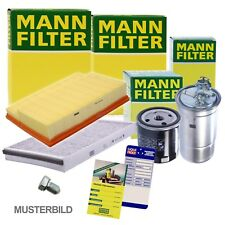 MANN-FILTER INSPEKTIONSPAKET FILTERSATZ B AUDI A6 4G C7 3.0 TDI BJ 10-14