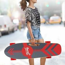 ANCHEER Electric Skateboard Power Motor Cruiser Maple Long Board with Remote
