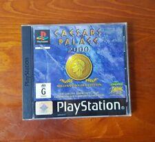 PS1 Caesars Palace 2000 Game Millennium Gold Edition PAL Playstation 1 Gambling