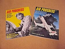 Lot 2 Air Progress Magazine 1967 March & April Red China PLAAF Air Force Helton