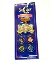 NEW VTG Medallion Bow Locket IRWIN Sailor Moon R Brooch Compact Cosplay Necklace