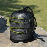 Portable Outdoor Cookware Camping Hiking Picnic Cooking Bowl Pan Pot Set NEW