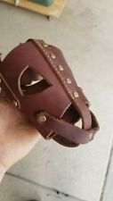 New listing Ray Allen Dog Muzzle Soft leather . classy and beautiful