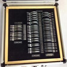 68 pcs metal rim trial lens set with Aluminium case Optometry Optical instrument