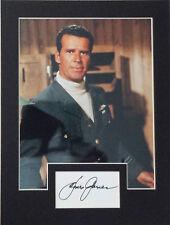 JAMES GARNER Signed 12x9 Photo Display THE GREAT ESCAPE & MAVERICK COA