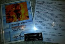 ICONS Terminator Endo-Skull Plaque COA & Instructions ORIGINAL Prop Replica