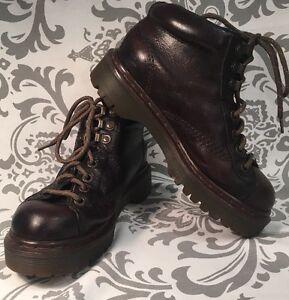 Vintage Unisex DR MARTENS AIR WAIR Ankle Chukka Boots 4M 6W RARE! ENGLAND #318