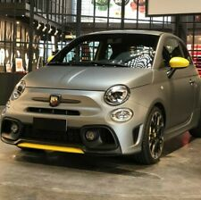Splitter ABARTH restyling giallo anteriore
