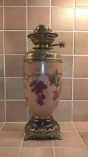 VICTORIAN EDWARDIAN  PORCELAIN OIL LAMP