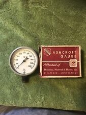 New listing Vintage Ashcroft Gauge 1000 Psi 2 1/2�