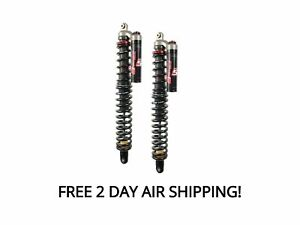 Elka Stage 5 Rear Shocks Suspension Pair Arctic Cat Wildcat Sport