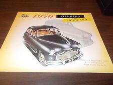 1950 Standard Vanguard Color Sales Brochure