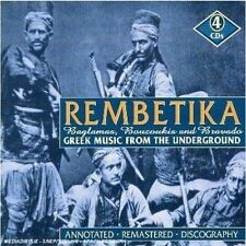 Rembetika-Greek Music From The Underworld (2006, CD NIEUW)4 DISC SET