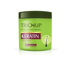 2x Trichup Keratin Hot Oil Hair Mask For Flexible Strong & Manageable-500 ml