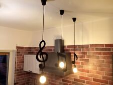 3 Note Musicali Lampadario 3 kit Musical Notes Ceiling Pendant Light Chandelier